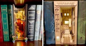 Questi inserti per la vostra libreria di casa sono capaci di catapultarvi in mondi fantastici ed epoche lontane
