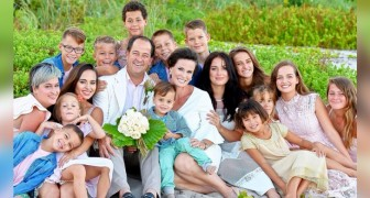 A husband and wife have created a superfamily with 16 children and have absolutely no regrets