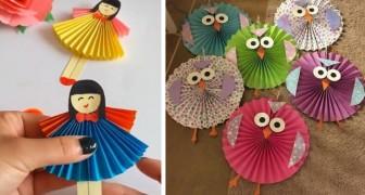 14 trovate brillanti per creare piccole meraviglie fai-da-te con i ventagli di carta