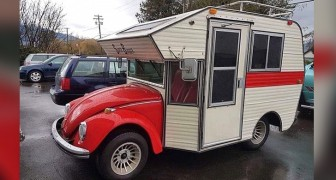 Mi-coccinelle, mi-camper : cette hybride est une voiture rarissime qui donne envie de partir
