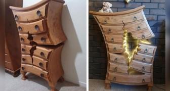 Un falegname in pensione costruisce mobili danneggiati che sembrano usciti da un film della Disney