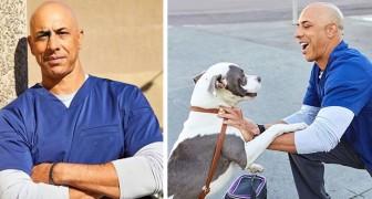 Kwane, der Straßentierarzt, der kostenlos die Haustiere von Obdachlosen behandelt...