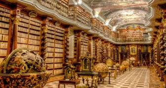 A Praga esiste una biblioteca poco conosciuta che è un capolavoro d'arte tutto da riscoprire