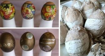 Uova di Pasqua dipinte: 13 facili tecniche fai-da-te per decorarle in modo sbalorditivo
