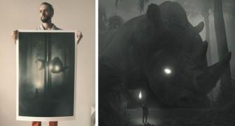 Una serie di immagini per ritrovare le proprie emozioni perdute: così questo artista è uscito dalla depressione
