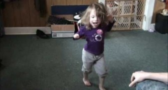 Doctors said this little girl would never be able to walk... until this moment !