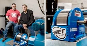 Padre e figlio realizzano una turbina per veicoli elettrici capace di risparmiare energia e a prezzi contenuti
