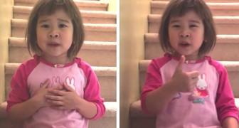 We kunnen allemaal vriendelijk zijn en glimlachen: het tedere advies van een 6-jarig meisje aan haar ouders die gaan scheiden