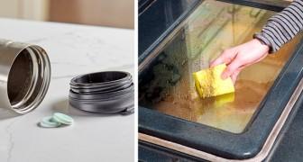 14 trucchi fai-da-te per affrontare le pulizie più difficili in casa