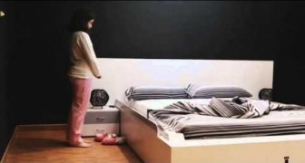 Forget about making the bed every morning, the SMART bed has arrived !