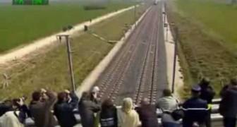 Il treno è da record: viaggia a 574 km/h!