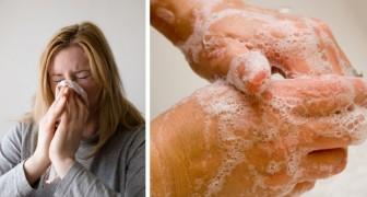 Covid-19 und Influenza zeigen sehr ähnliche Symptome, aber der Unterschied zwischen den beiden Viren ist erheblich
