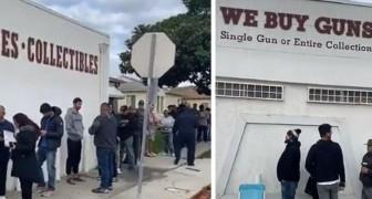 Aux États-Unis, la panique provoquée par le Coronavirus a conduit de nombreuses personnes à faire la queue pour acheter des armes et des munitions