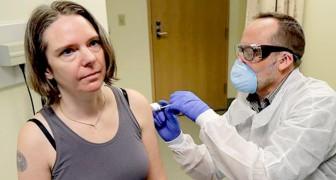 Coronavirus: een moeder van twee kinderen is de eerste persoon in de VS die een experimenteel vaccin heeft gekregen