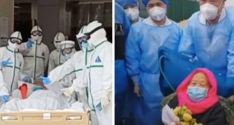 Une femme de 103 ans de Wuhan a guéri du coronavirus en seulement 6 jours d'hospitalisation