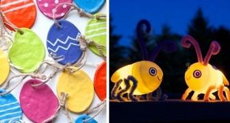 10 soluzioni originali per creare decorazioni di Pasqua diverse dal solito insieme ai più piccoli
