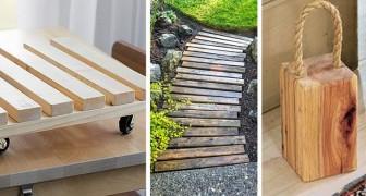 9 idee strepitose per trasformare il legno di scarto in tanti lavoretti fai-da-te