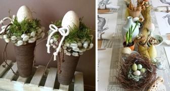 12 affascinanti decorazioni di Pasqua per dare alla casa un tocco country chic
