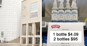 Un gel costa 4 dollari, 2 gel costano 95: l'idea del negozio per evitare che i clienti facciano scorte eccessive