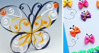 15 modi creativi in cui realizzare incantevoli farfalle, per lavoretti adatti a tutte le età