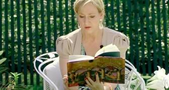 J.K. Rowling ändert die Lizenz von Harry Potter, damit die Lehrer ihn den Schülern zu Hause vorlesen können