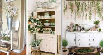 15 idee per creare in casa splendide decorazioni floreali in perfetto stile primaverile