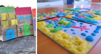 7 activités sympathiques et bon marché pour occuper les enfants à la maison et leur permettre de s'amuser avec leur créativité