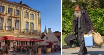 C'è chi non può restare a casa nonostante il Coronavirus: un hotel di Bruges apre le sue porte ai senzatetto