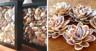 12 idee una più bella dell'altra per realizzare splendide decorazioni con le conchiglie