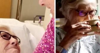 La figlia aveva dato l'ultimo saluto alla mamma di 90 anni affetta da Coronavirus, ma lei si riprende inaspettatamente