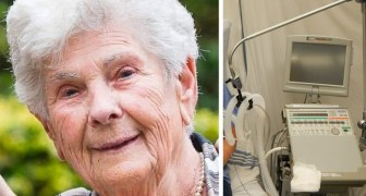 At 90 she is hospitalized for Coronavirus, but refuses the ventilator: Give it to young people