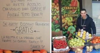 Un fruttivendolo egiziano aiuta la comunità di Bergamo: 10 anni fa mi avete accolto, ora vi regalo i miei prodotti