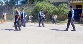 Coronavirus, in Honduras chi viola il coprifuoco viene messo a pulire le strade per alcune ore