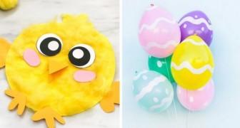 10 adorabili lavoretti da realizzare per Pasqua all'insegna del riciclo creativo