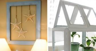 15 modi creativi per trasformare le vecchie cornici in decorazioni uniche e originali