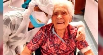 Ada, die 104-jährige Frau, die das Coronavirus besiegt hat: sie gehört zu den ältesten geheilten Patienten der Welt