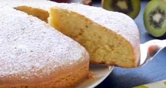 Torta 12 cucharadas: ligera, fácil de preparar y sin necesidad de usar la balanza para los ingredientes