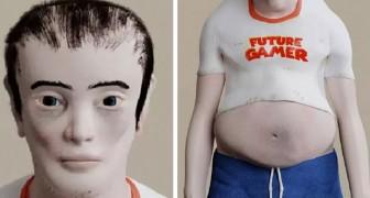 Michael, l'inquietante modello che mostra come potrebbe diventare un gamer incallito nei prossimi 20 anni
