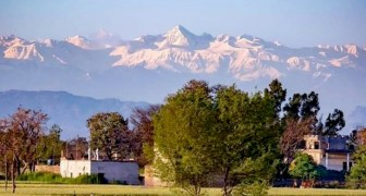 Coronavirus: dopo 30 anni, si può ammirare l'Himalaya a 200 km di distanza grazie all'aria meno inquinata