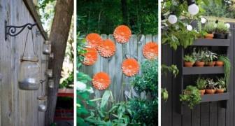24 decorazioni una più bella dell'altra per abbellire staccionate e muri di cinta