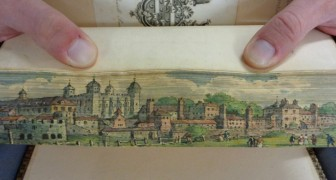 L'antica arte dei dipinti a scomparsa nel taglio dei libri: i più pregiati venivano decorati con veri capolavori