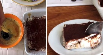 A tiramisu without eggs or mascarpone: a tasty variation which is fast and figure friendly