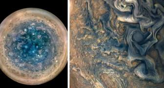 Spektakuläre Fotos der NASA vom Jupiter: Hypnotische Stürme und Zyklone ziehen über die Oberfläche des Gasriesen