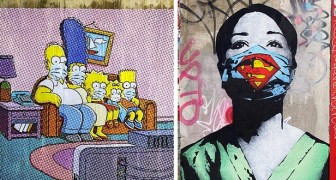 La street art interpreta il Coronavirus: 9 opere che simboleggiano il periodo che stiamo vivendo