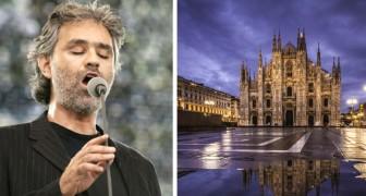 Andrea Bocelli in concerto presso il Duomo la sera di Pasqua: tutto il mondo potrà assistere alla serata in streaming