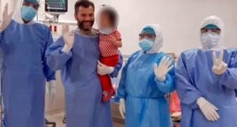 Coronavírus: uma menina de 2 anos se cura completamente após 8 dias internada