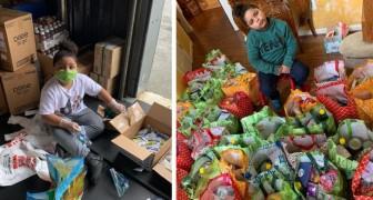 7-Jähriger kauft mit seinem Ersparten Lebensmittel für die alten Menschen in seinem Viertel