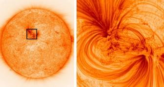 Ein NASA-Teleskop kann ultra-definierte Bilder der Sonne aufnehmen: sie gehören zu den schärfsten Bildern, die je gesehen wurden