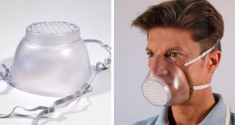 Ein italienisches Unternehmen stellt transparente, waschbare und wiederverwendbare Masken her, indem es die Produktion von Koffern umgestellt hat