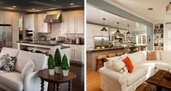 11 proposte una più bella dell'altra per arredare i soggiorni con cucina a vista